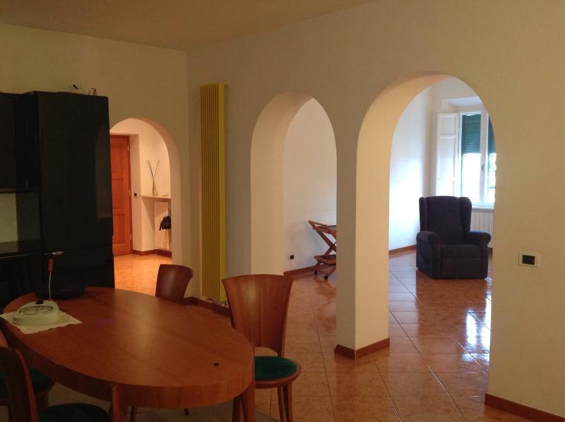 Cucina e soggiorno - Bright Apartment on Elba Island in Tuscany - Portoferraio - rentals