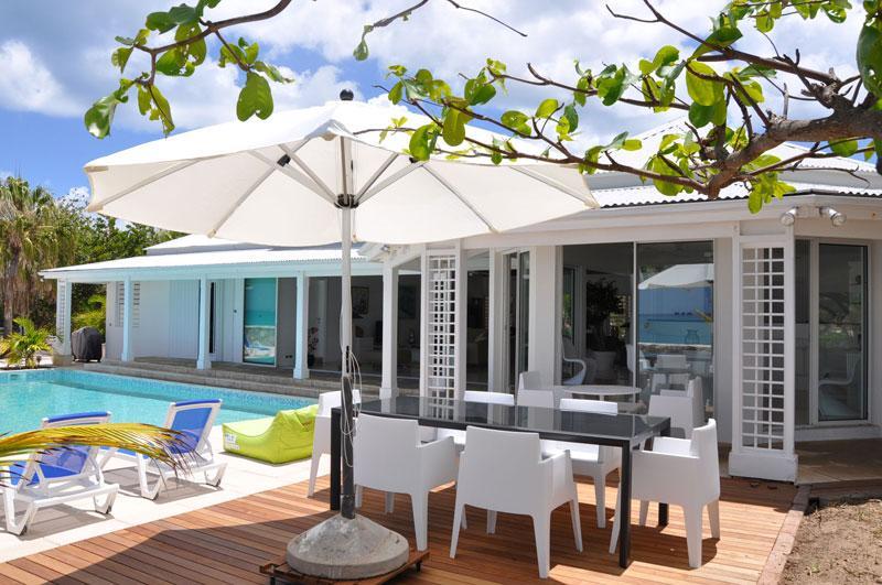 Ecume Des Jours at Terres Basse, Saint Maarten - Beachfront, Pool, Sunset View - Image 1 - Terres Basses - rentals