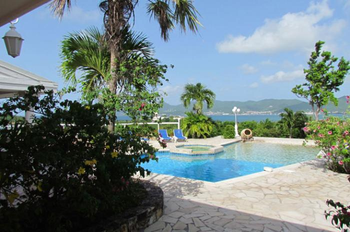 La Siesta at Terres Basses, Saint Maarten - Ocean View, Large Pool, Short Walk to Bay Rouge Beach - Image 1 - Terres Basses - rentals