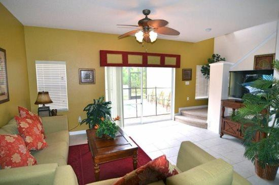 3 Bed 2.5 Bath Townhome With Pool in Encantada Resort. 3016YLL - Image 1 - Orlando - rentals