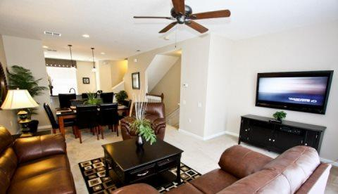 3 Bed 3 Bath Town Home Next To The Convention Center. 4845TA-143 - Image 1 - Orlando - rentals