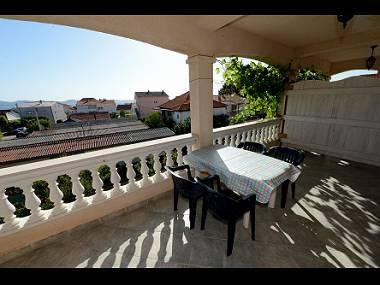 A4(2+2): covered terrace - 00418ZADA A4(2+2) - Zadar - Zadar - rentals
