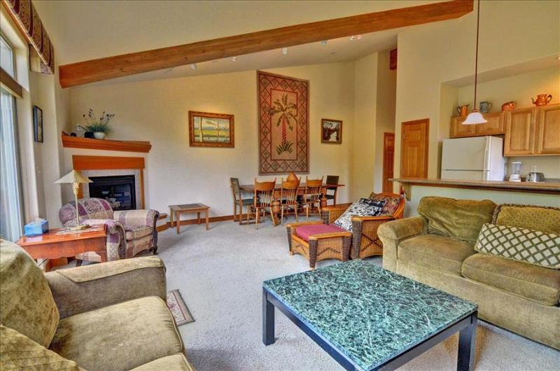 RETREAT ON THE BLUE: 2 Bed/2 Bath, Upscale Condo on the Blue River, Garage, W/D, King Bed - Image 1 - Silverthorne - rentals