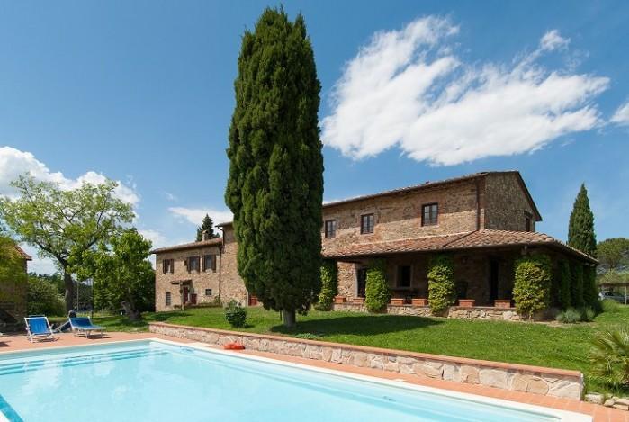 8 bedroom Villa in Montelupo, Tuscany, Italy : ref 2018048 - Image 1 - Poggio alla Malva - rentals