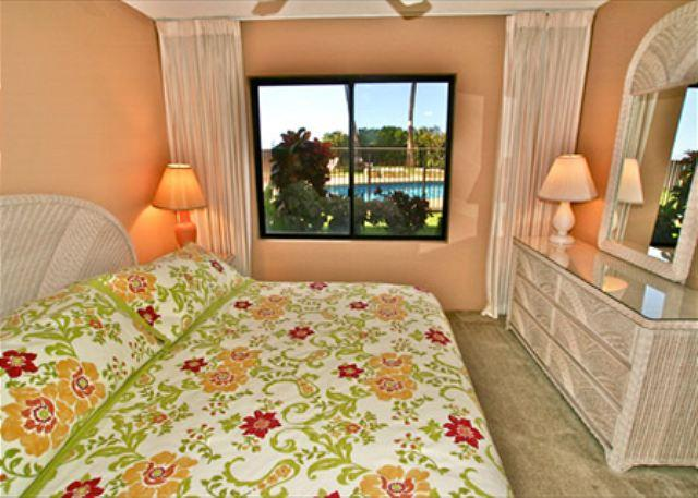Master Bedroom - #101 - 2 Bedroom/2 Bath Ocean Front unit on Sugar Beach! - Kihei - rentals