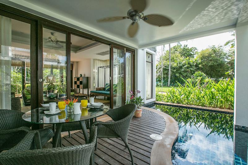 3-Bedrm Pool Villa, 1 Minute's Walk to Beach - Image 1 - Mae Nam - rentals