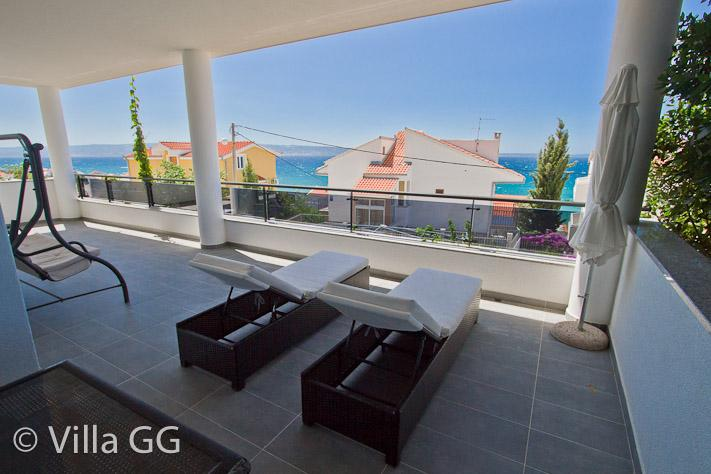 Terrace - Villa GG: Exclusive accommodation / First Floor - Split - rentals