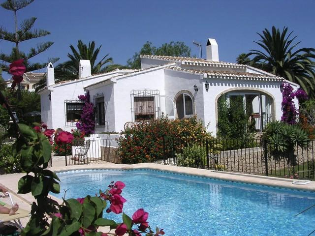 Villa in May - Javea ,3 Bed/Bathroom Villa, Gated private pool - Javea - rentals