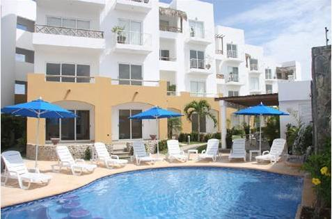 Villas Marina Gardens heated pool - Marina Retreat: Villas Marina Gardens 303 - Mazatlan - rentals