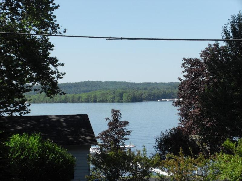 View from my cottage. Lake is directly across the street - Chatauqua Lake Cottage with charm - Bemus Point - rentals