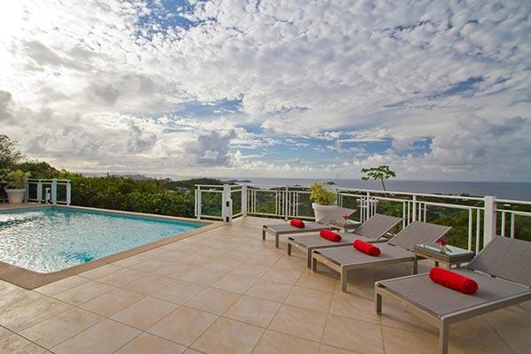 Elegant and comfortable villa with magnificent ocean views WV ACR - Image 1 - Vitet - rentals