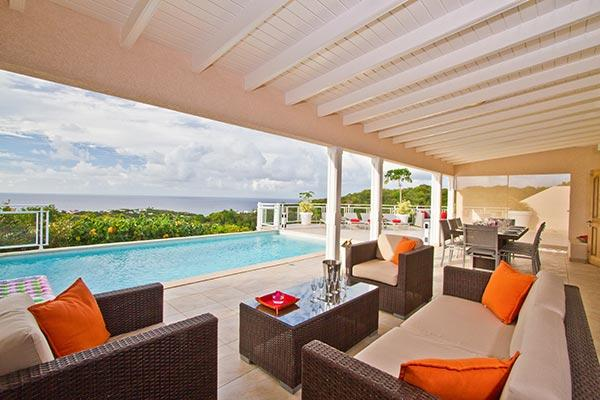 Elegant and comfortable villa with magnificent ocean views WV ACR - Image 1 - Saint Barthelemy - rentals