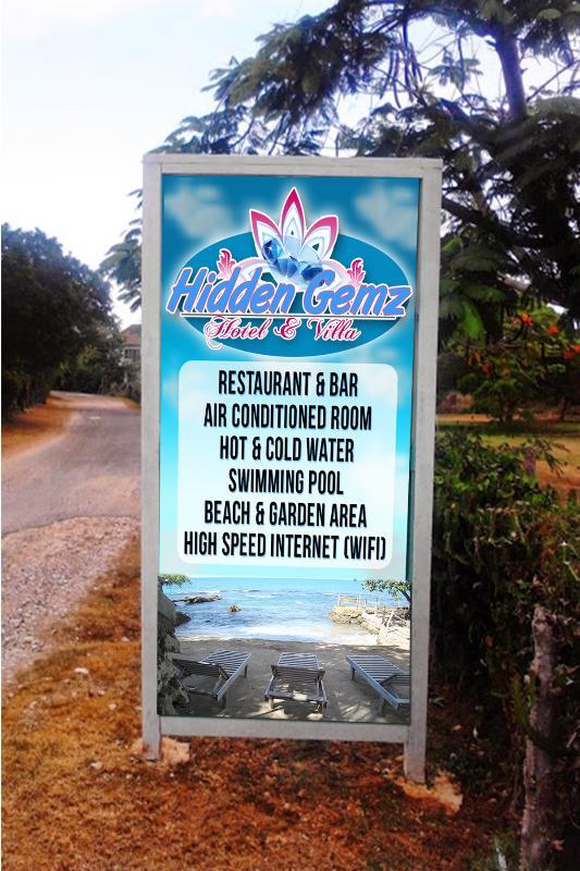 "The  Entrance - Hidden Gemz Hotel & Villa  ""The Perfect Getaway"" - Treasure Beach - rentals"