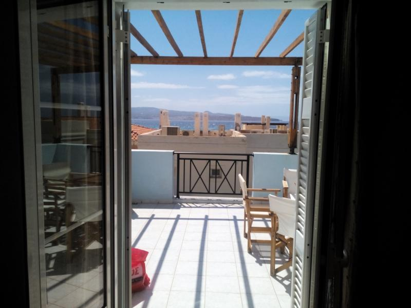 view from the balcony - DOUBLE HOUSE IN BEAUTIFUL CRETE - Siteia - rentals