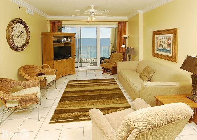 Living Room - Enjoy the Sauna and Steam Room ~Bender Vacation Rentals - Gulf Shores - rentals