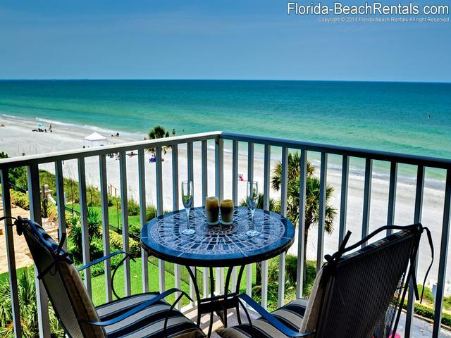 The Breakers 404 Beachfront 2 bedroom, 2 bath Condo - Image 1 - Redington Beach - rentals