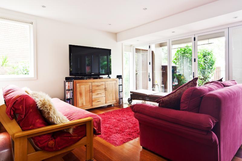 Sitting area - Treetopz - Bilgola - rentals