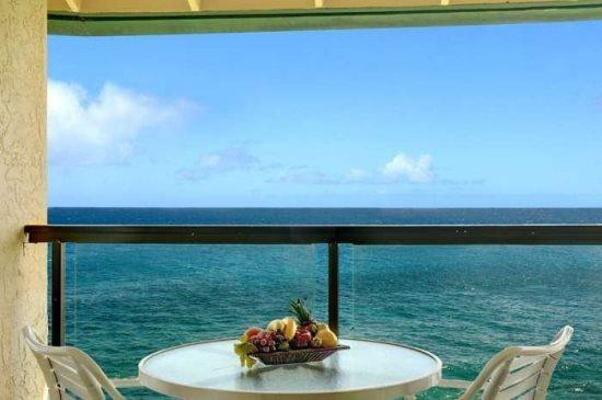 lanai - Free Car* with Poipu Shores 405A - One of the best views in Poipu from this remodeled penthouse. - Poipu - rentals
