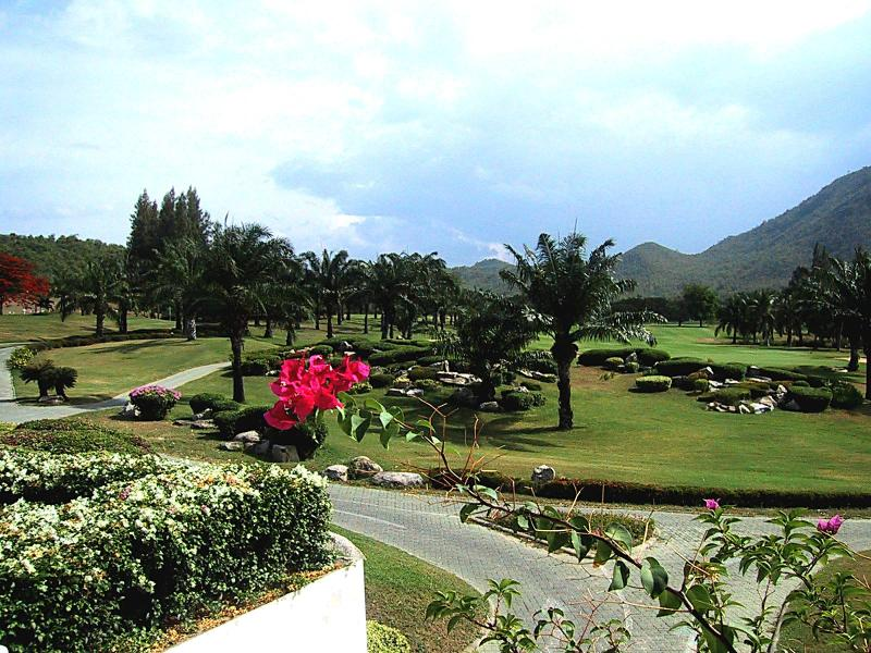 View from the Golf Club - Luxury Condo on Golf Course, Quiet Setting by Sea - Hua Hin - rentals