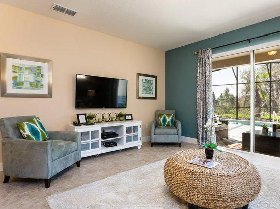 5 Bedroom 4.5 Bathrooms South Facing Pool home. 4333AC - Image 1 - Kissimmee - rentals