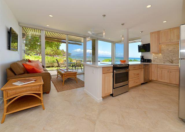 Hale Kai # 101 - entrance - Hale Kai #101 - Your Home by the Sea in West Maui - Lahaina - rentals