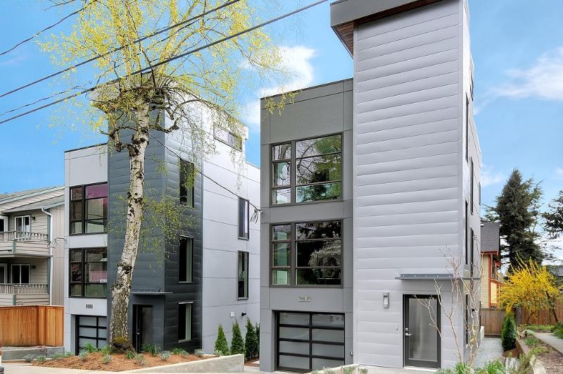 Modern 3br. walk to google. garage and roofdeck - Image 1 - Seattle - rentals