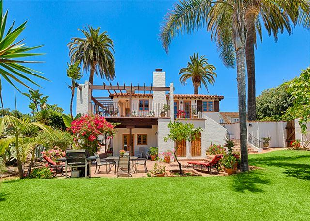 Spanish Villa home in Windansea has a 3,000 SF yard and Ocean Views! - 10% OFF MAY - Spanish Villa w/ Ocean Views & Sprawling Yard - Steps to Beach - La Jolla - rentals