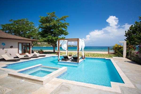 Sun Kissed Villa - Discovery Bay, Jamaica - Beachfront, Private Pool - Image 1 - Discovery Bay - rentals