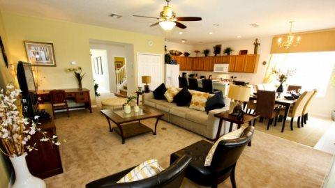 5 Bedroom 4 Bathroom Pool Home in Gated Bella Vida. 410LFD - Image 1 - Orlando - rentals