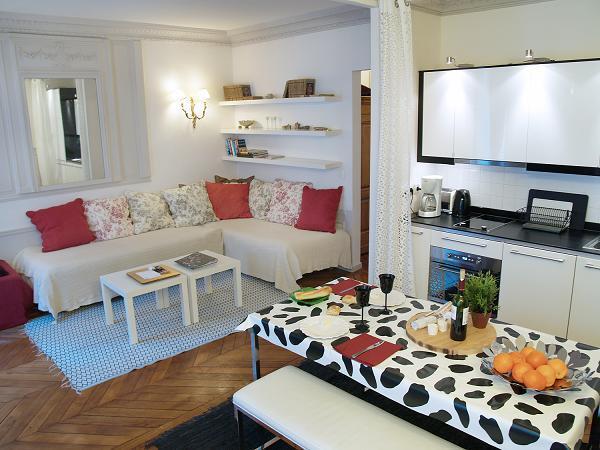 Le Marais, very comfortable 1BR apartment, family friendly, elevator AC - Image 1 - Paris - rentals