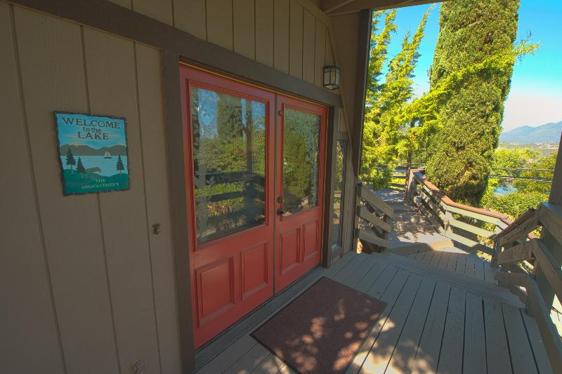 Entry - Dome House at the Lake - Lower Lake - rentals
