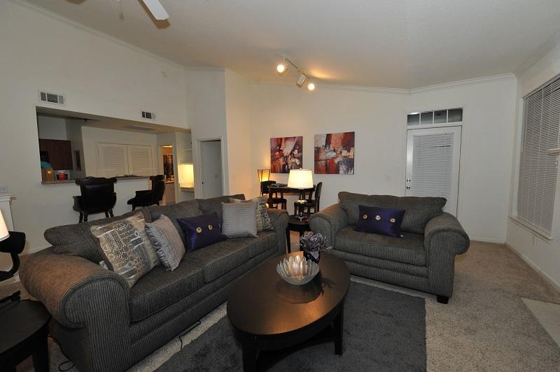 Living Room - All Inclusive Furnished Suite - Rogers - rentals