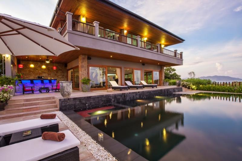 Samui Island Villas - Villa 22 Fantastic Sea Views - Image 1 - Choeng Mon - rentals