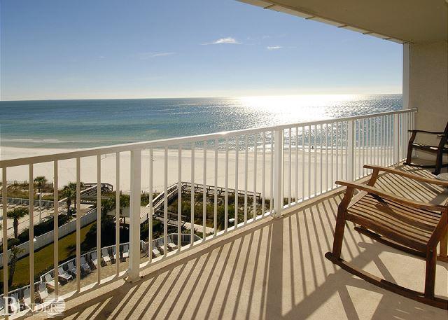 Balcony - Beachfront Condo ~Bender Vacation Rentals - Orange Beach - rentals