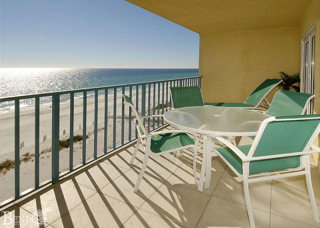 Balcony - Surf Side Shores 2804 ~ Views and Morning Coffee ~ Bender Vacation Rentals - Gulf Shores - rentals
