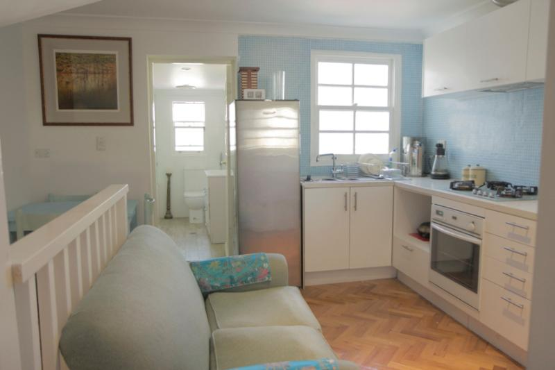 combined kitchen dining - Redfern - city fringe elegant fully furnished house - Sydney - rentals