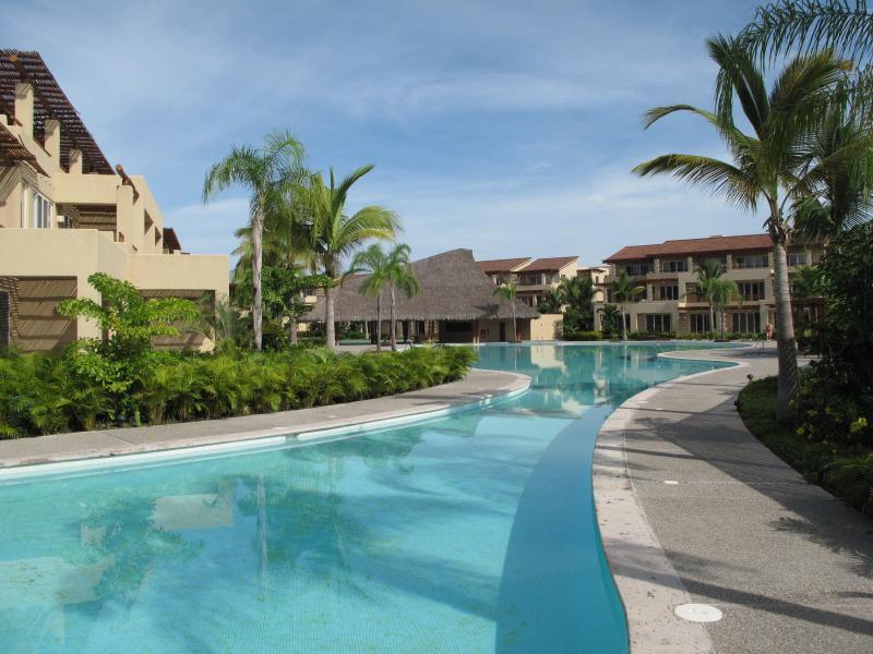 three pools for swimming or sunning - Mexico delight Nuevo Vallarta new penthouse 2 bd - Nuevo Vallarta - rentals