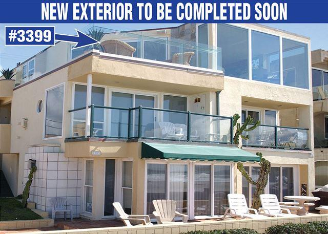 Sweeping oceanfront penthouse! Floor to ceiling glass for amazing views! - Image 1 - Pacific Beach - rentals