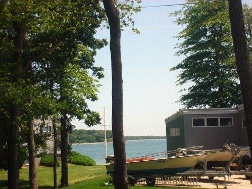 Water view from deck - Luxury Beach House for the Price of a Hotel Room - Southold - rentals