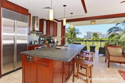 Kitchen With View - Beach Villas BT-403 - Kapolei - rentals