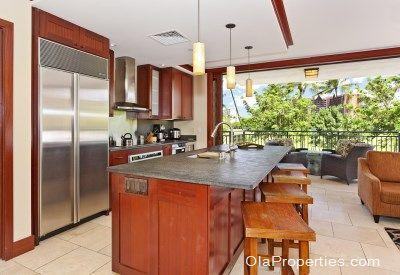 Kitchen With View - Beach Villas OT-212 - Kapolei - rentals