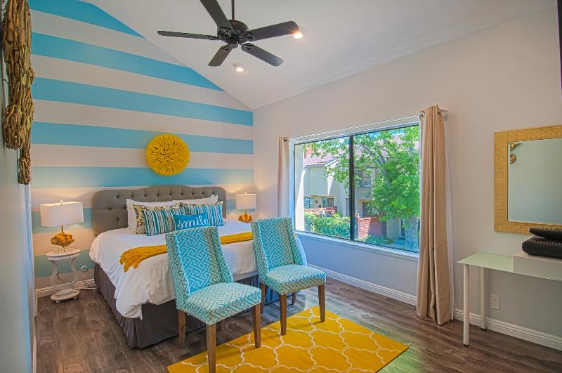 Gorgeous master suite with King BeautySleep mattress and luxurious linens you will sink into! - ENCHANTED ESCAPE 4! Walk to Disney! - Anaheim - rentals