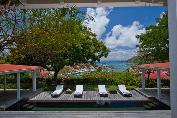 Harbor view villa on a hill a few minutes up from Gustavia WV ANG - Image 1 - Gustavia - rentals