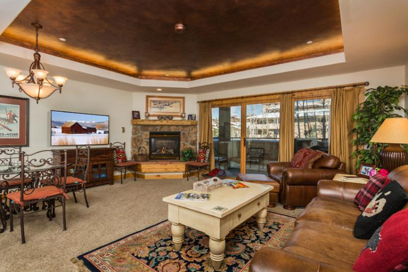 "Canyon Creek : Pool, Hot Tub, Fitness Room. 55"" TV - Image 1 - Steamboat Springs - rentals"