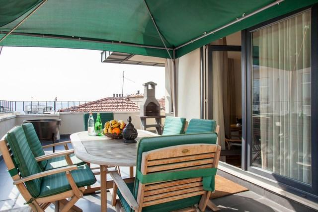 Private Terrace-3BR Apt w Terrace - 3 BR★2BA★RECEPTION★ELEVATOR★PRIVATE TERRACE★BBQ!! - Istanbul - rentals