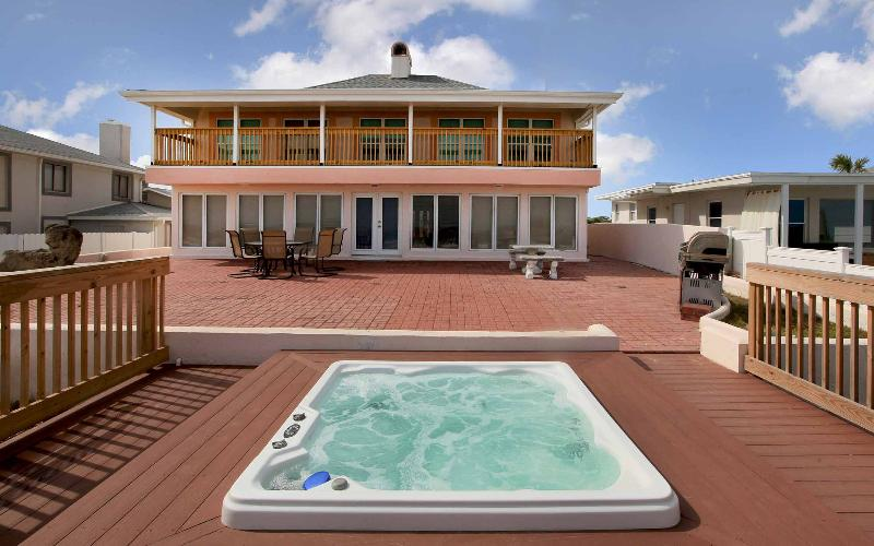 Fall $pecials -Luxury Jacuzzi Home #2721 - Ocean Front - Image 1 - Daytona Beach - rentals
