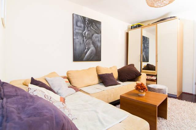 Living room - Spacious apartment on top location. Free parking! - Zagreb - rentals