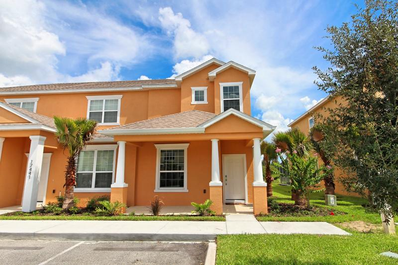 Front Of Home - 3 Bed 3 Bath Pool Home + Clubhouse (17443-SEREN) - Orlando - rentals