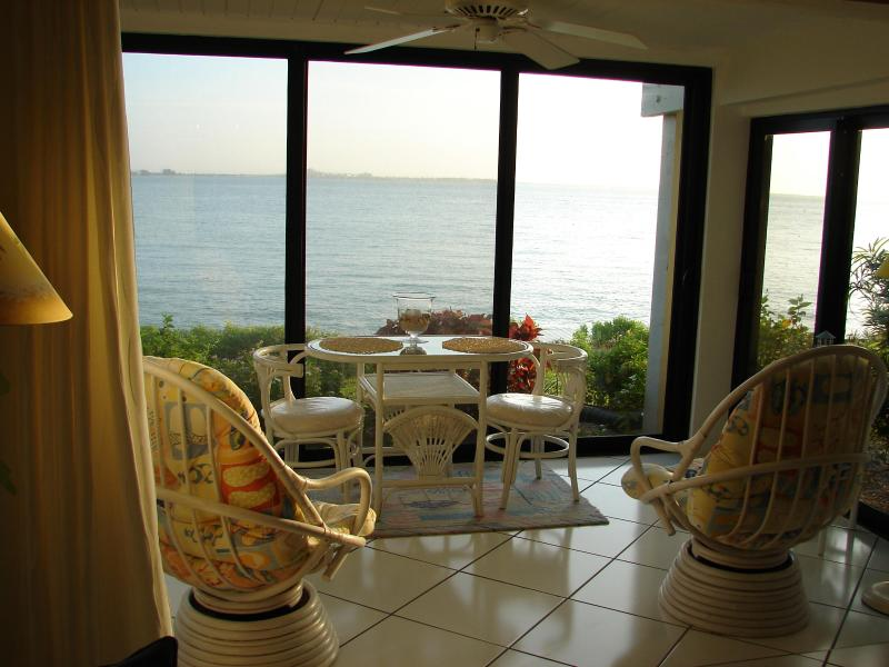 Lanai w/ breath taking Bay views. - Island Paradise. 1st Fl. Water views WiFi, HDTV - Sanibel Island - rentals
