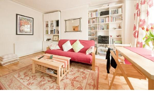 CR143London - Charming garden apartment, Zone 2, sleeps 4 - Image 1 - London - rentals